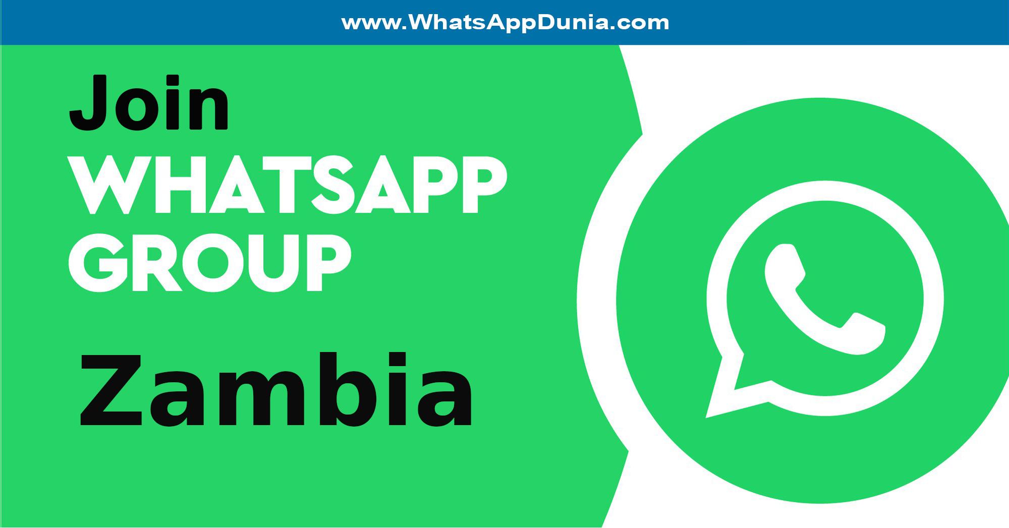 Zambia WhatsApp Group Links