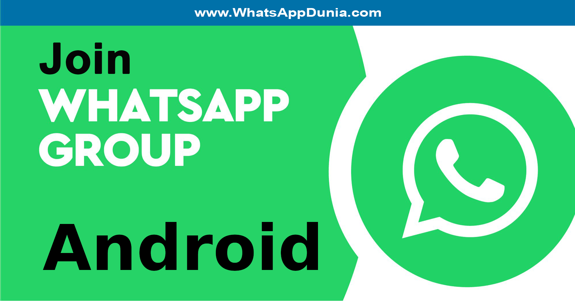 Android WhatsApp Group Links