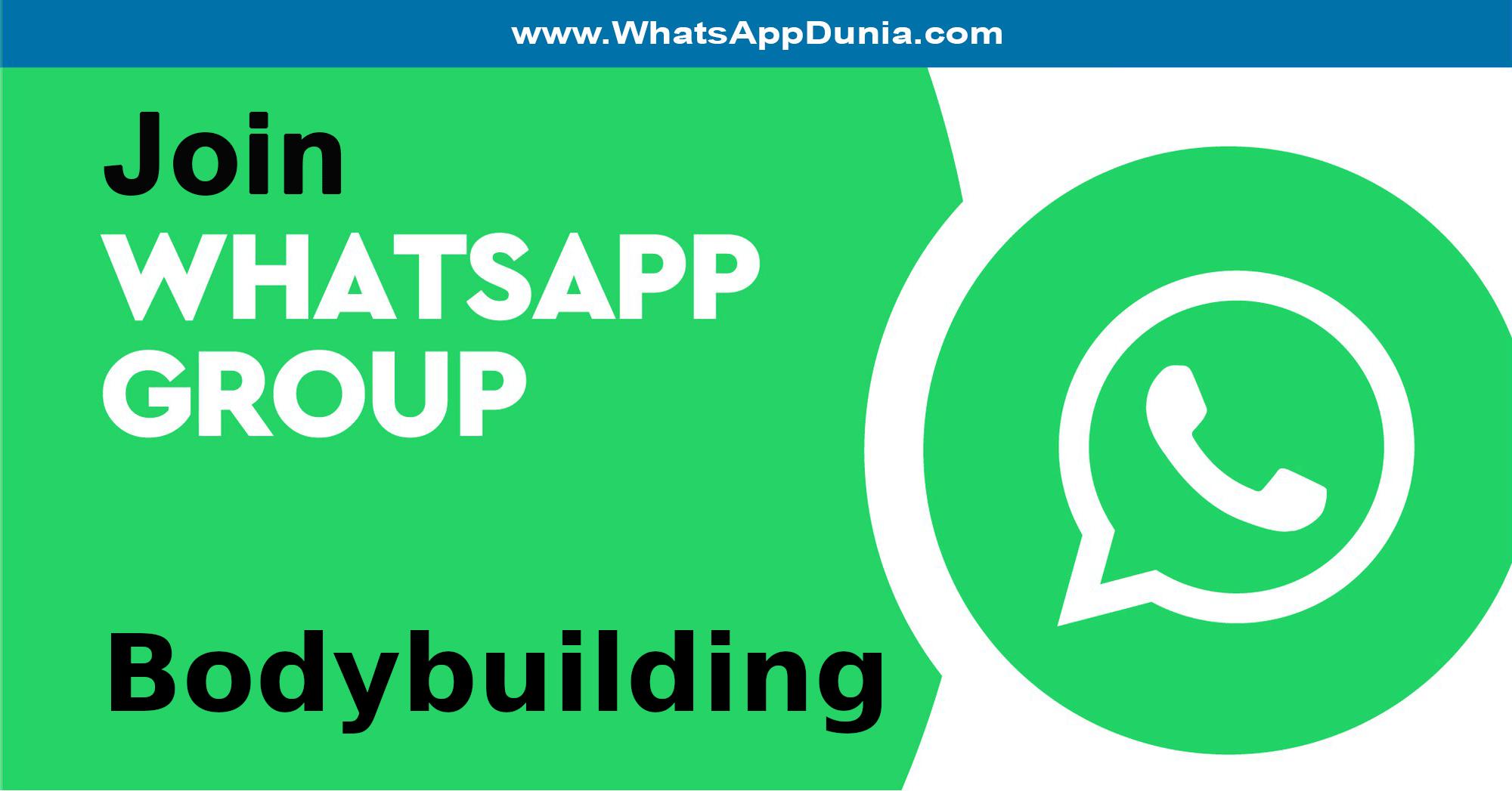 Bodybuilding WhatsApp Group Links