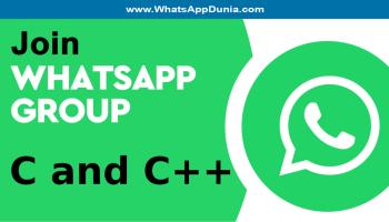 C and C++ WhatsApp Group Links
