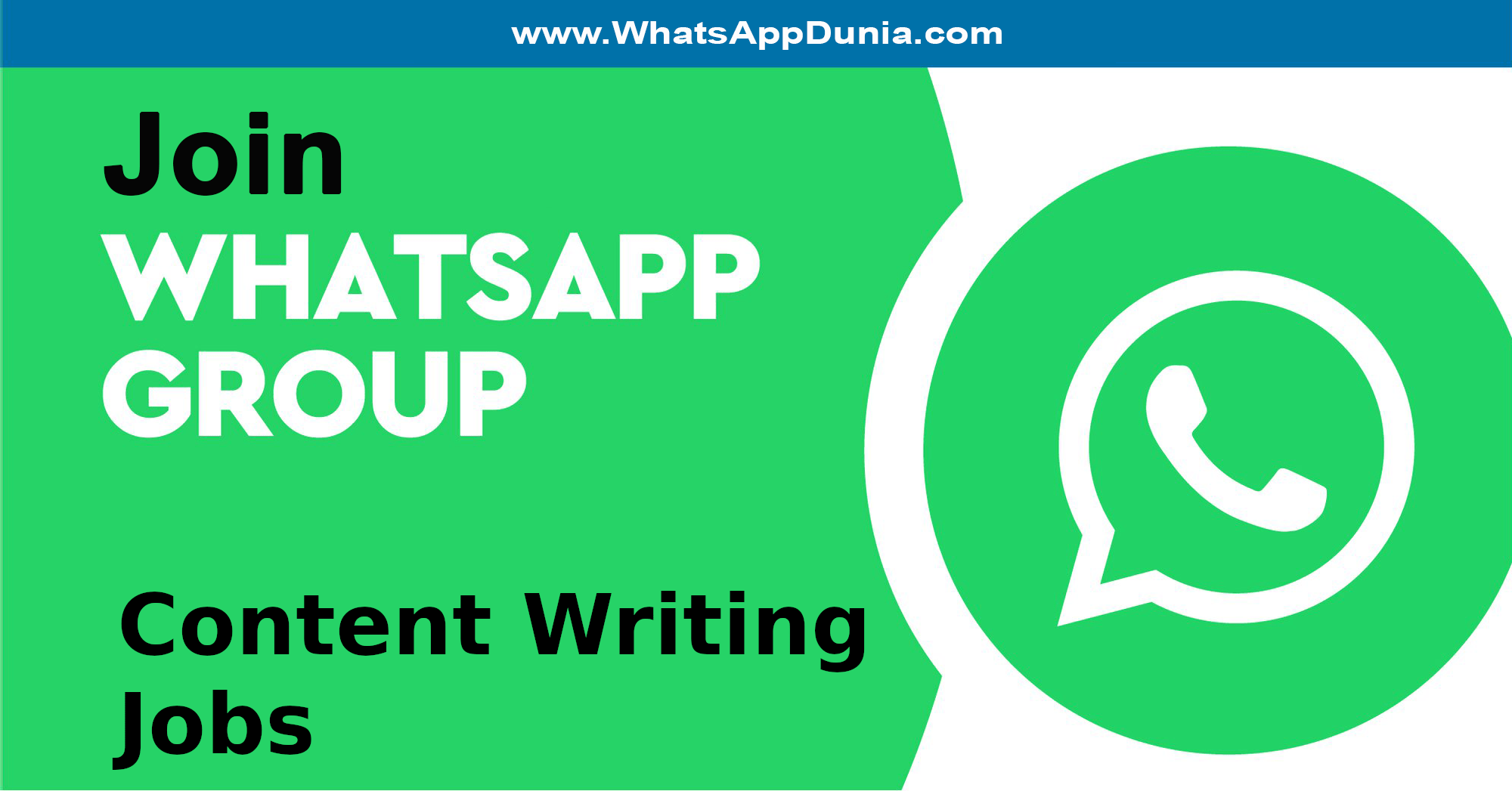 Content Writing Jobs WhatsApp Group Links