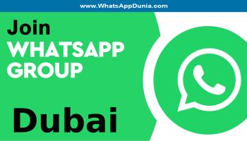 Dubai WhatsApp group links