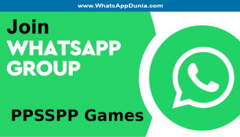 PPSSPP Games WhatsApp Group Links