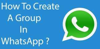 how to create group in whatsapp?