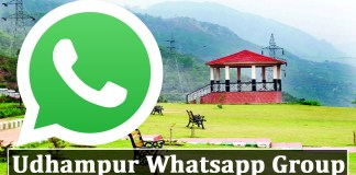 Join Udhampur Whatsapp Group Link