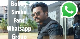 Bobby Simha Fans Whatsapp Group Link