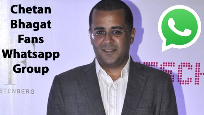 Chetan Bhagat Fans Whatsapp Group Link