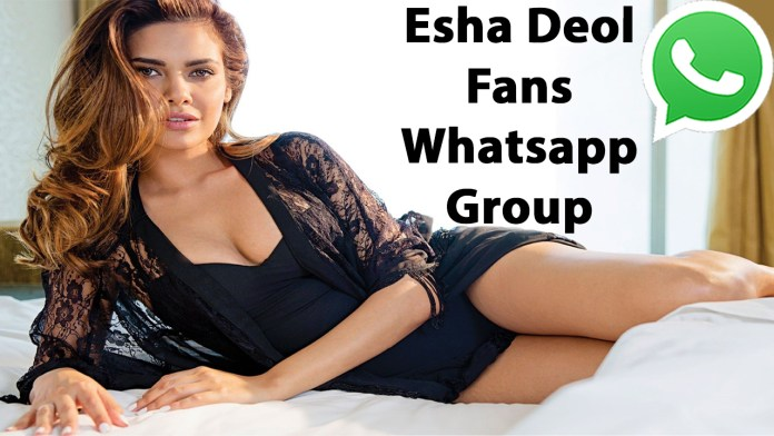 Esha Deol Fans Whatsapp Group Link