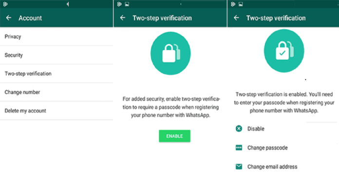 How To Secure Your Whatsapp Account With 2 Step Verification Security Feature