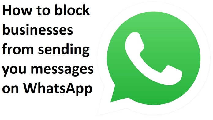 How to block businesses from sending you messages on WhatsApp