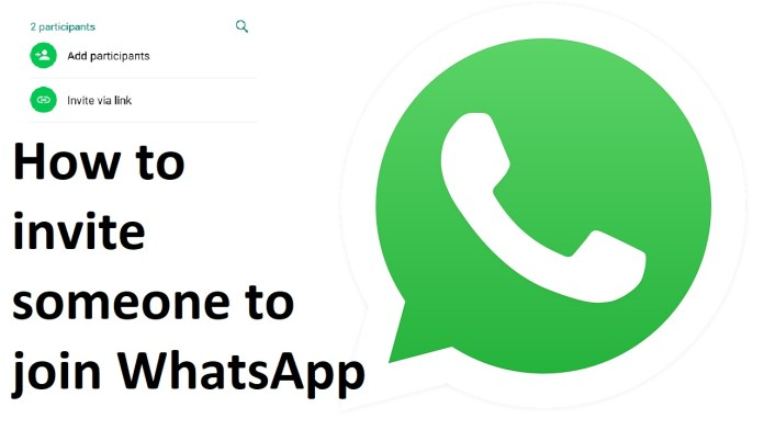 How to invite someone to join WhatsApp