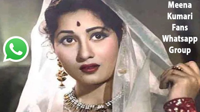 Meena Kumari Fans Whatsapp Group Link