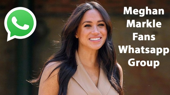 Meghan Markle Fans Whatsapp Group Link