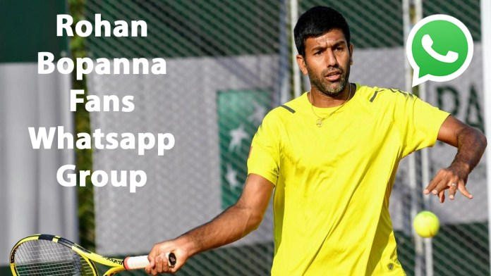 Rohan Bopanna Fans Whatsapp Group Link