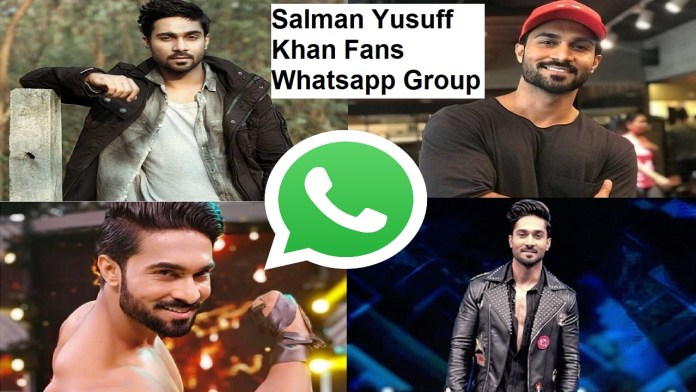 Salman Yusuff Khan Fans Whatsapp Group Link