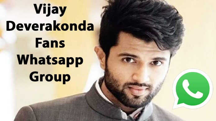 Vijay Deverakonda Fans Whatsapp Group Link