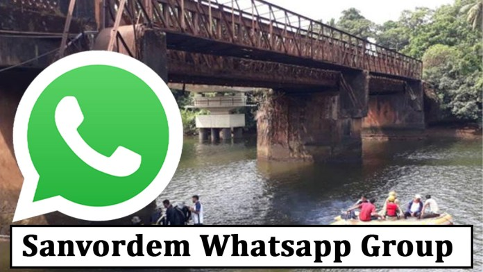 Sanvordem Whatsapp Group Link