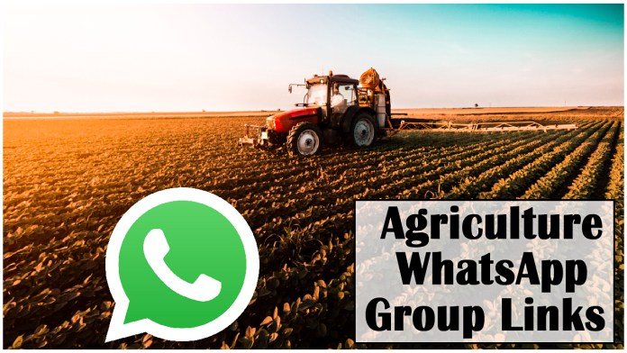 Agriculture WhatsApp Group Links