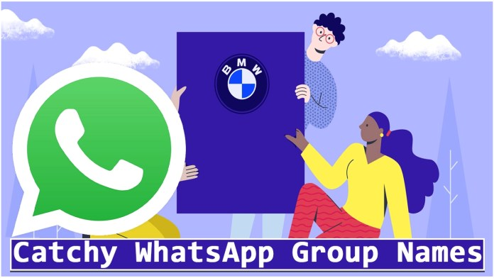 Catchy WhatsApp Group Names