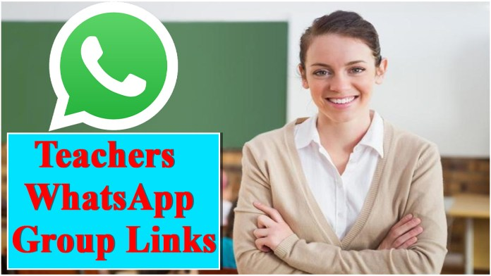 Teachers WhatsApp Group Links