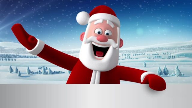 santa christmas - Best Merry Christmas Gif Images To Share with Friends