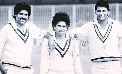 6 Best Pictures of Sachin Tendulkar..  Happy BirthDay Sachin Tendulkar.. God of Cricket..Evolution of Cricket and Sachin