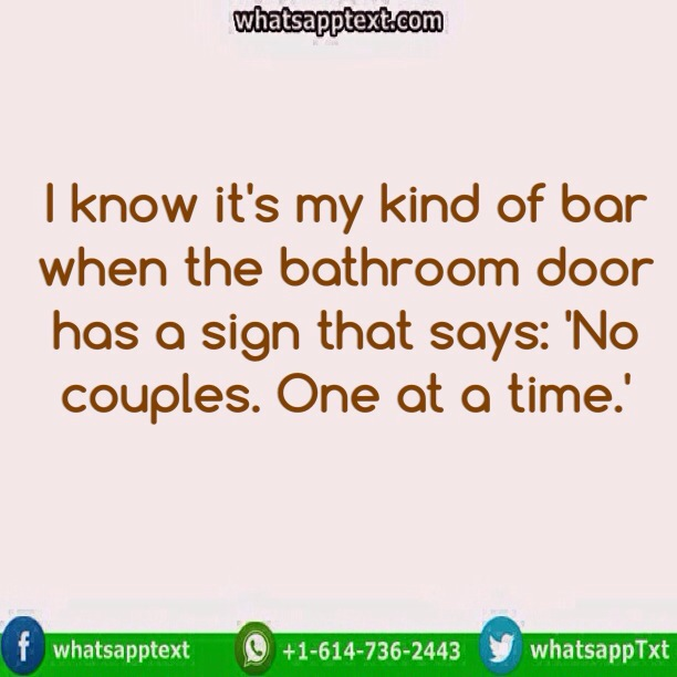 Bathroom Jokes funny bathroom sign - whatsapp text | jokes | sms | hindi | indian