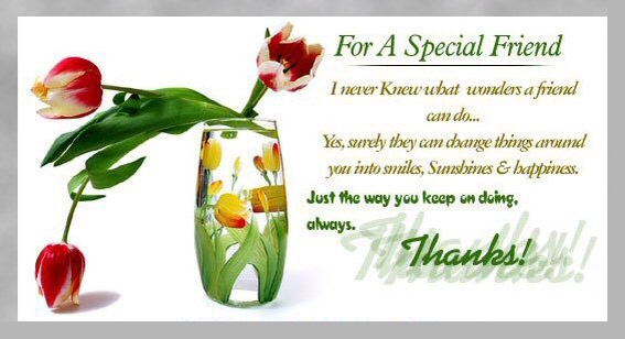friendship day message for special friend