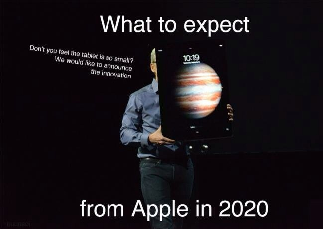 What to expect from Apple in 2020? iPad !!!