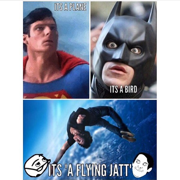 Flying jatt movie troll