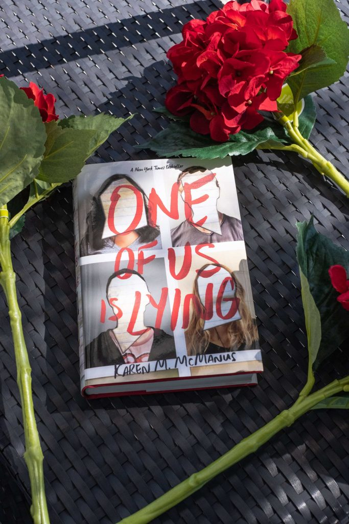 One Of Us Is Lying Review & March Bookclub #whatsavvysaid #bookclub #whatsavvyread #oneofusislyingreview #oneofusislying #youngadultnovel #getreading