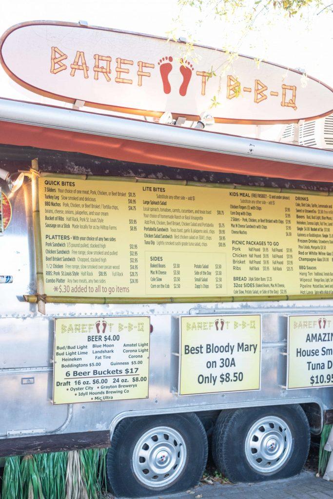 Gluten Free Options In Seaside Florida #whatsavvysaid #seasideflorida #glutenfree #seaside #barefootbbq