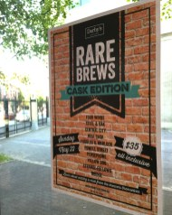 Darby's Gastown Rare Brews Cask
