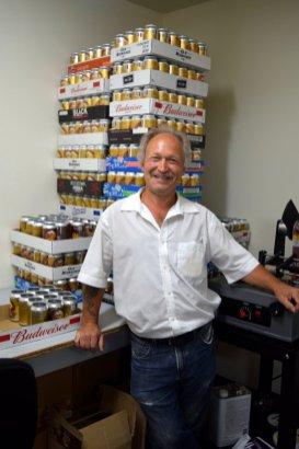 Ray Huson, original brewer