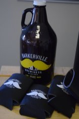 At Barkerville's tasting room, where over $1800 was raised during summer 2017