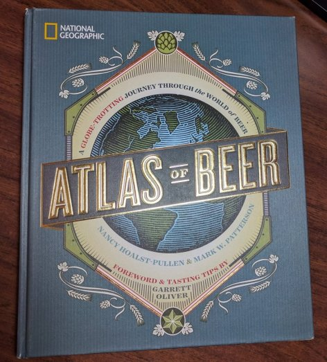 Cover from National Geographic Atlas Of Beer