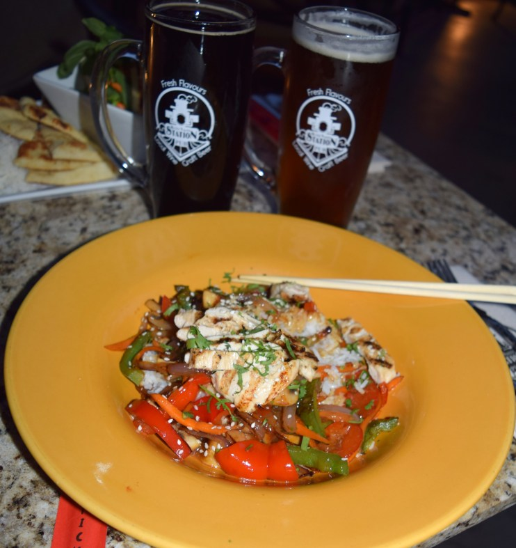 Dining at the Kettle Valley Station Pub