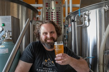 Brewer Dave Woodward - Mt Arrowsmith