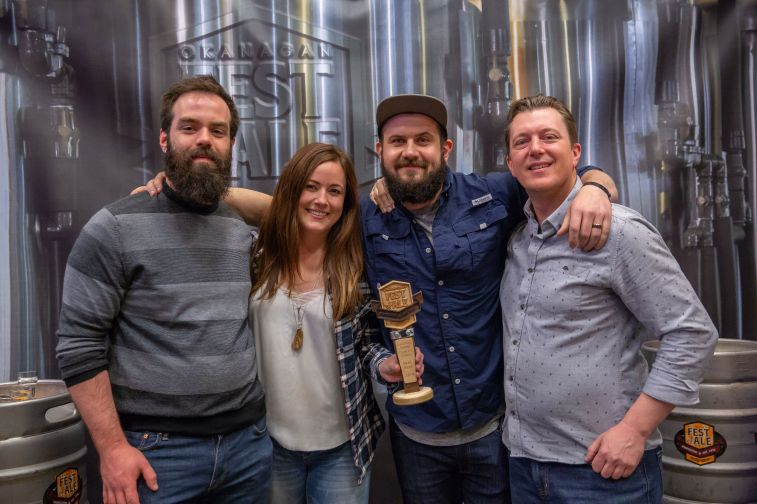 People's Choice Best Beer What The Fog, Hazy IPA Slackwater Brewing, Penticton BC 2