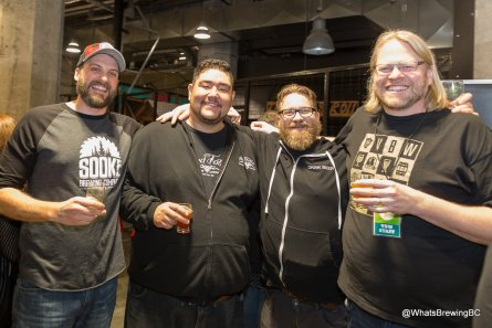 Joe with BC beer guys