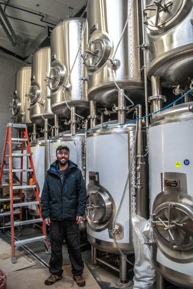 Head Brewer Jean-Benoît