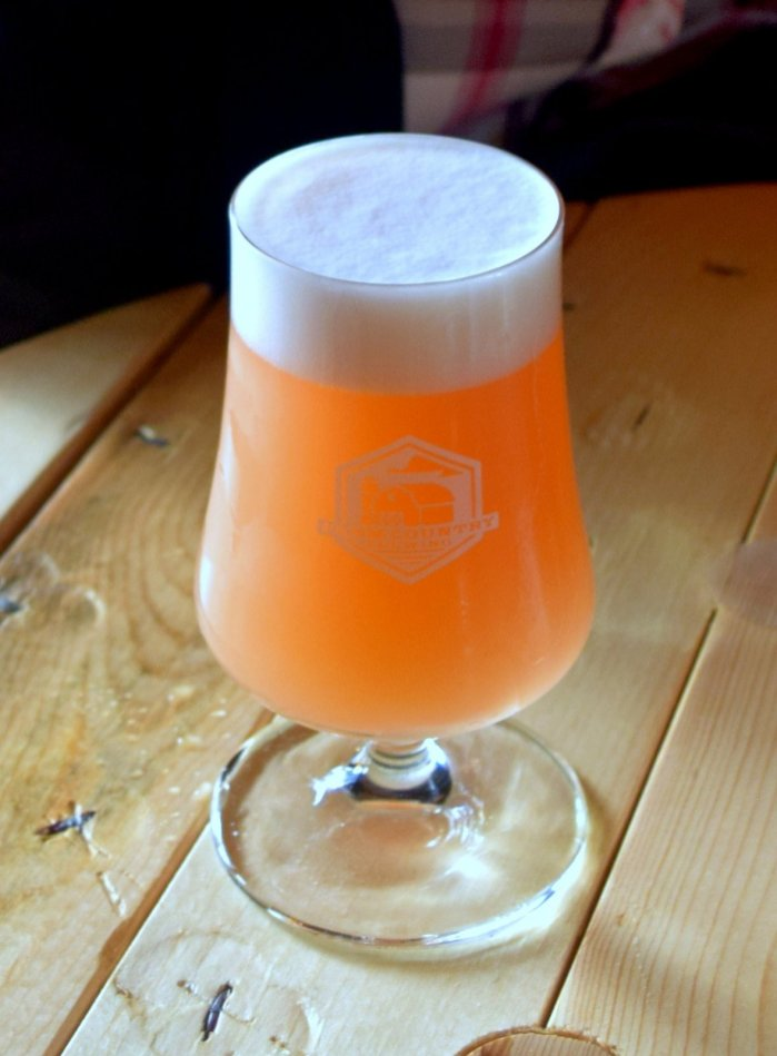 The tasty Strawberry-Rhubarb Kettle Sour