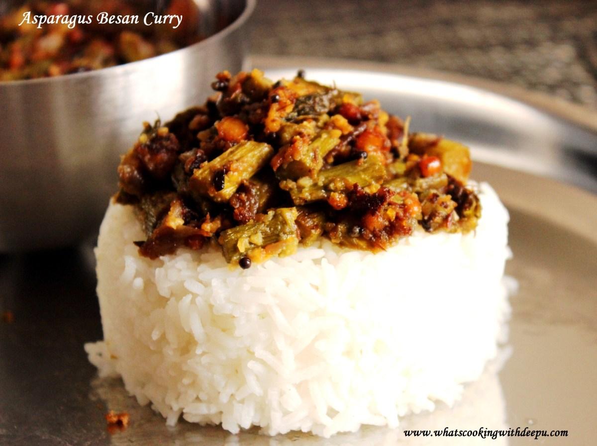 Asparagus Besan Curry