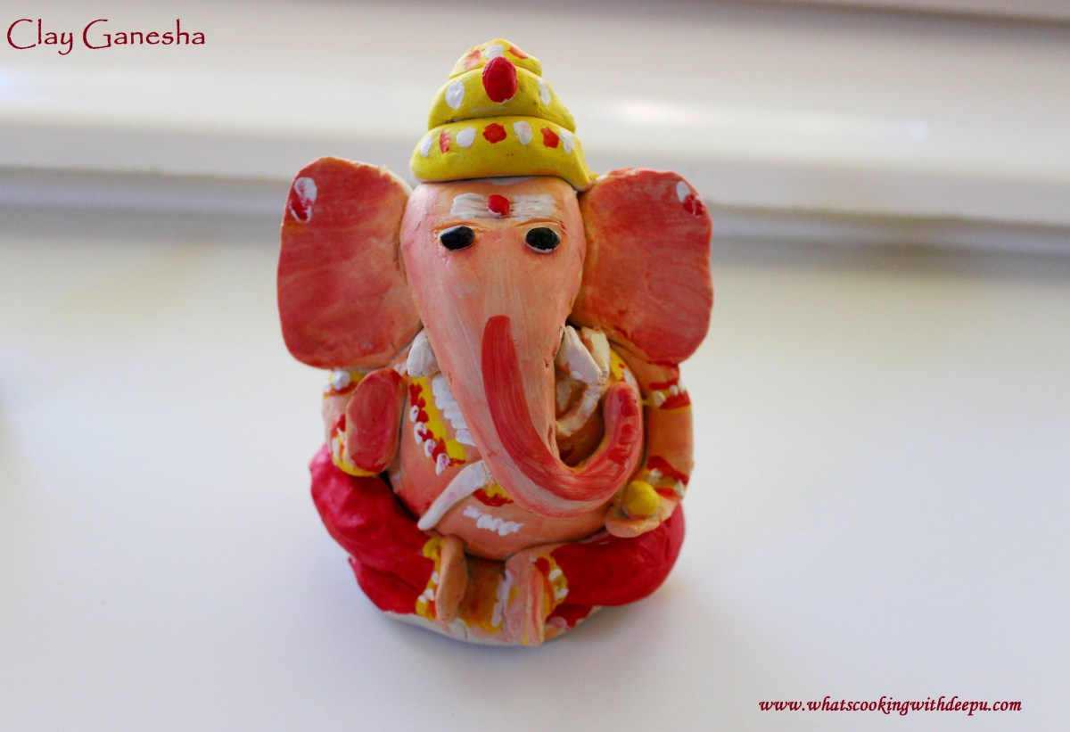 How to Make Clay Ganesha...