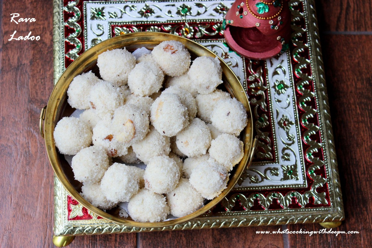 Rava Ladoo- Happy Diwali !!!