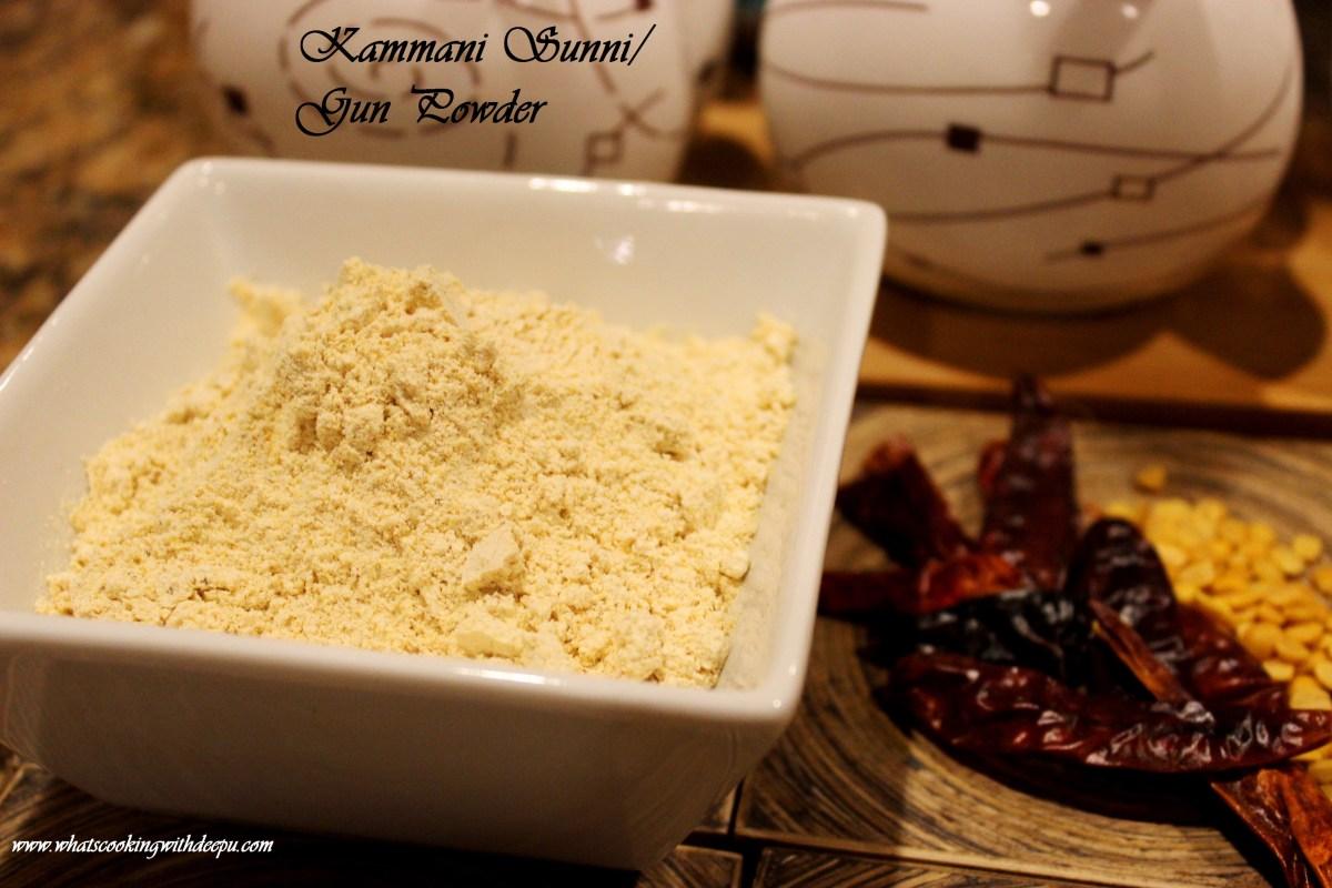 Kammani Sunni / Gun Powder