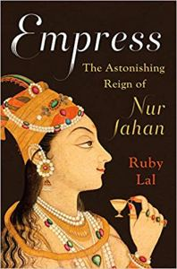 The cover of Empress, bearing a painting of Nur Jahan