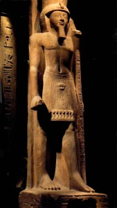 A statue of Tawosret's husband, Seti II