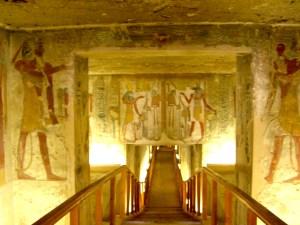 The tomb of Tawosret/Twosret and Sethnakht