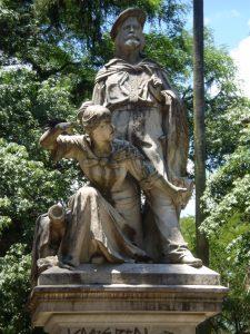 Anita and Giuseppe Garibaldi statue, Rio Grande del Sol